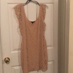 Lace Material Girl Dress